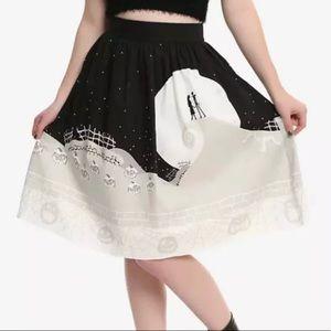 The Nightmare Before Christmas Moon Retro Skirt
